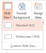 Powerpoint sizing