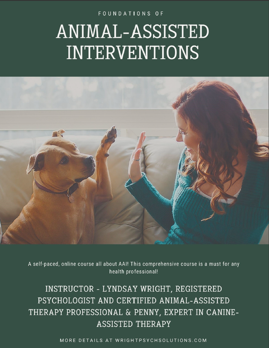 Foundations of Animal-Assisted Interventions