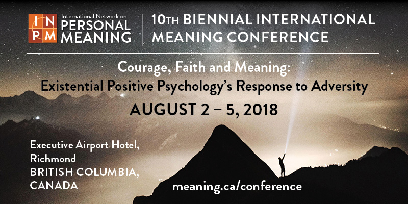10th Biennial International Meaning Conference