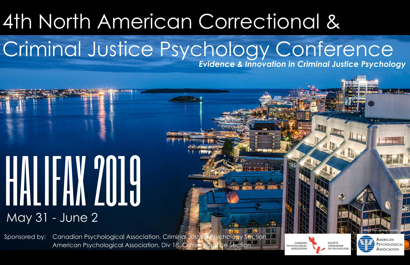 Fourth North American Correctional and Criminal Justice Psychology Conference