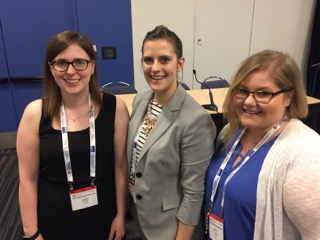 2018 ESP Section Poster Award Winners Lauren Goegan, Bronwyn Lamond, & Sarah Babcock