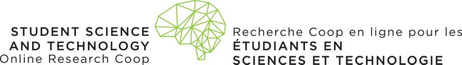 The Student Science and Technology Online Research Coop