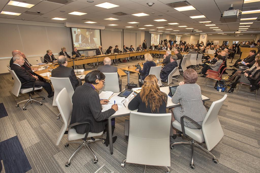 Board of Directors Meeting Stock Photo