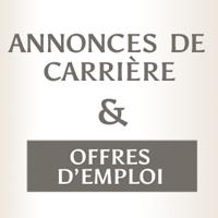 Annonces de carrière et offres d'emploi